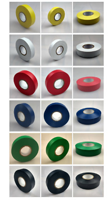 Electrical  Insulation Tape 25mm PVC Flame Retardant All Colours x 33 Metres