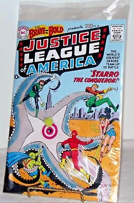 Justice League of America The Brave and the Bold  #28 - NEW Factory Sealed COA