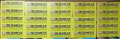 25 Dave and Busters D&B $20 gameplay with same purchase powercard EXP 02/28/2019