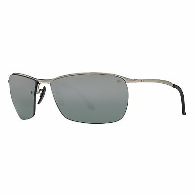 066f8ee2d2 Ray-Ban RB3544 003 5L Polarized Grey Mirror Chromance 64mm Lens Sunglasses
