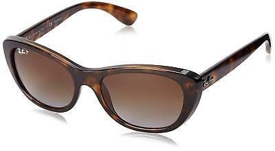 d7882640fc Ray-Ban RB4227 710 T5 Tortoise Frame Polarized Brown Gradient 55mm Lens  Sunglass