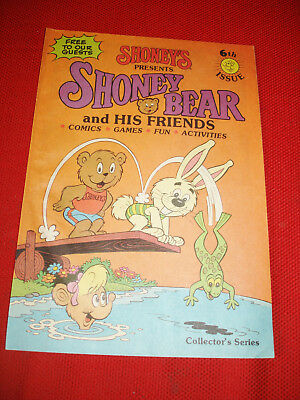 Vintage Comic Activity Book 6th Issue From Shoney's Restaurants - 1986