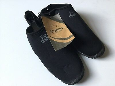 Dublin Horse Riding Boot Grip Covers Protect Black Brand New With Tags Size XL