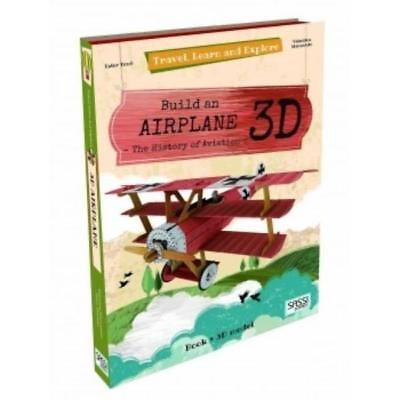 Sassi Travel, Learn and Explore 3D - Build a 3D Airplane