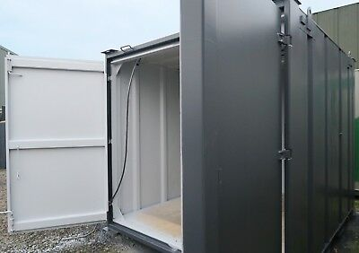 10x8 Ft Anti Vandal Store, Secure Store Storage/ Shipping Container