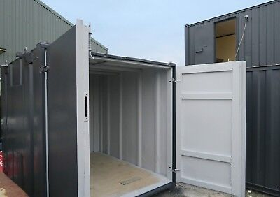 10x8 ft Anti Vandal Store  (3 x 2,5 m) Secure store Storage Container. Shipping