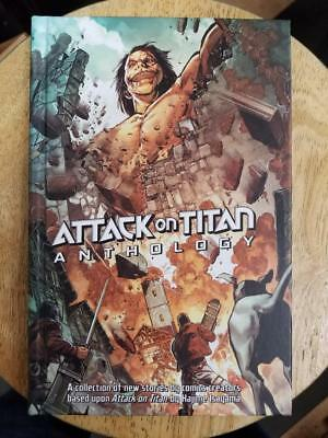 Attack On Titan Anthology Hardcover Hc Previews Exclusive $29.99 Msrp New