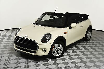 2019 Cooper Mini Convertible 3408 Miles White 1 5l 3 Cyl Engine