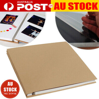 12 20 Sheets Self Adhesive Scrapbook DIY Photo Album Craft Paper Memory Book