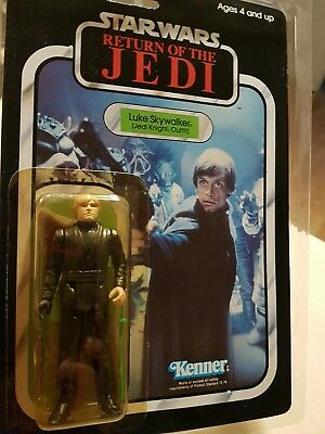 Star Wars Vintage 1983 Luke Skywalker Jedi Knight Outfit Kenner ROTJ