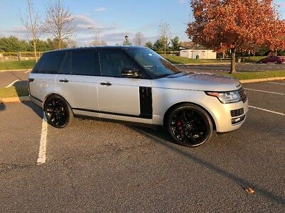 2013 Land Rover Range Rover  2013 Range Rover supercharged