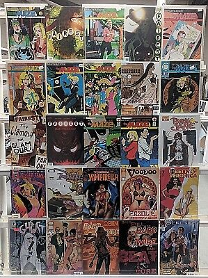 Adam Hughes Comics Huge 25 Comic Book Collection Lot Comics Set Run Books Box 2