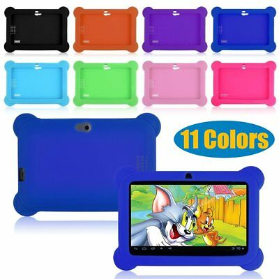 Tablet Soft Rubber Case Silicone Protective Cover For 7 inch kids tablet New US