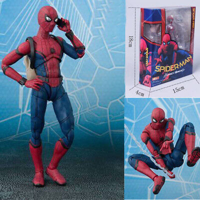 Action Figure SHF S.H.Figuarts Marvel Spider-Man Homecoming Spiderman Xmas Toy