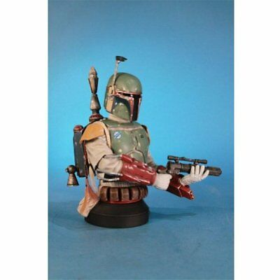 Star Wars Boba Fett Deluxe 1: 6 Scale Mini Bust SDCC 2013 Exclusive