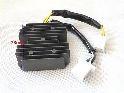 Voltage Regulator Rectifier 7 Pins Wires for GY6 Scooter Moped  Chinese Parts