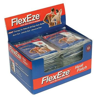 FlexEze Heat Patches, Muscle and Pain Relief, Heat Therapy - 50 Pack