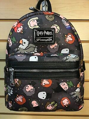 Loungefly Harry Potter Cartoon Character Mini Backpack