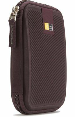 Case Logic EHDC-101 Hard Shell Case for Portable Hard Drive - Tannin