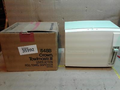 Crown 548b Towlmastr III Lever Action Roll Towel Dispenser New in box