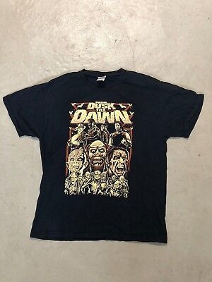 VTG 90s From Dusk Till Dawn Cartoon/Caricature Shirt L Rare Vampire Horror