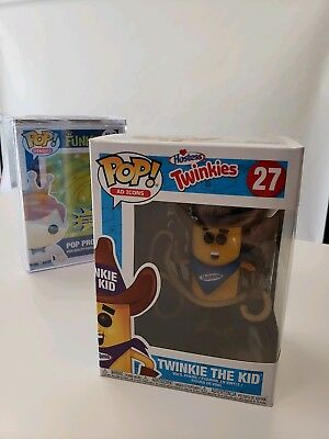 Pop! Ad Icon: Twinkie the Kid (In Stock!) Vinyl Figure INCLUDES HARD CASE!