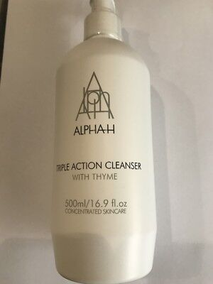 Alpha H Triple Action Cleanser With Thyme Supersize 500Ml