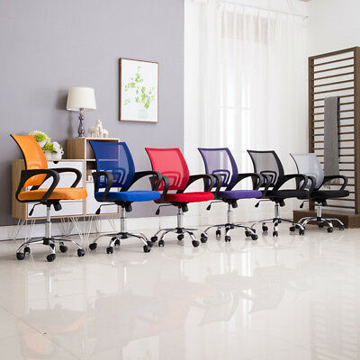 Ergonomic Mesh Office Chair Computer Desk Chair Gas Lift  5-Legged Wheels Swivel