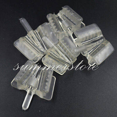 Dental Saliva Ejector Silicone Mouth Prop Support Hold Suction Tip S/L Optional