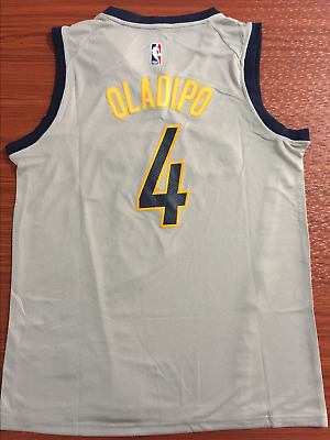 size 40 55871 5abfb MEN'S VICTOR OLADIPO #4 Indiana Pacers 2018 Swingman Jersey S-2XL