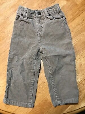 Toddler Boy's Sonoma Tan Corduroy Pants Size 18M