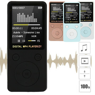 Portable Mini MP3 Lossless Sound Music Player LCD Support 32GB Micro SD TF Card