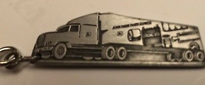 John Deere Parts Express Semi Truck PDC 1994 EXPO Pewter Key Chain New Orleans