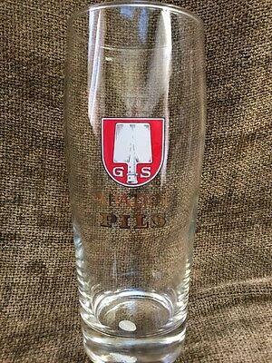 New NWT GS Spaten Pils Tap Beer Glass 0.5 liter Brewery Collectable