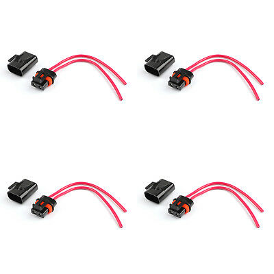 4× ATO ATC Waterproof Medium Blade Fuse Holder 12AWG Wire For Car Trailer Boat U