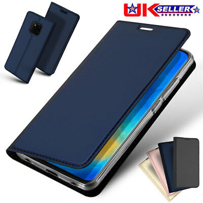 For Huawei Mate 20 Pro Luxury Leather Flip Case Stand Wallet Card Magnetic Cover