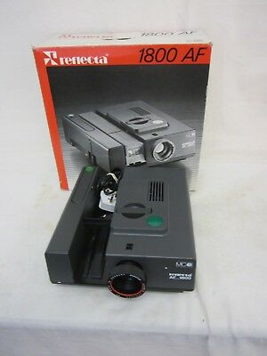 Reflecta AF 1800 35 mm Slide Projector - Nicely Boxed - No Slide magazine