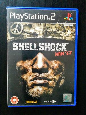 ShellShock Nam 67 PlayStation 2 Console Game w/ Manual, TESTED, WORKING
