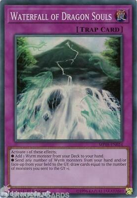 MP18-EN024 Waterfall of Dragon Souls Super Rare 1st Edition Mint YuGiOh Card