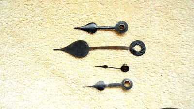 2 - Pairs of  Antique  Clock Hands for Restoration or Spares