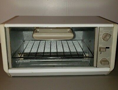 Swell Black Decker Spacemaker Toaster Oven Under Cabinet Toast R Tro 200 Ty2 Interior Design Ideas Oxytryabchikinfo