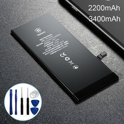NEW Baseus High Replacement Internal Li-Ion Battery for iPhone 6 6s Plus & Tools