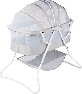 ib style® TIMBA travel cot travel bed baby bed foldable with mosquito protection