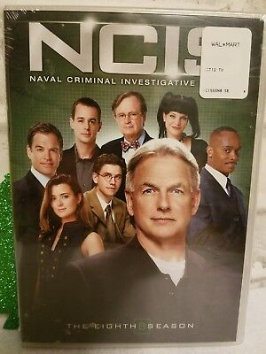 NCIS: The Eighth Season (DVD, 2011, 6-Disc Set) New in Package