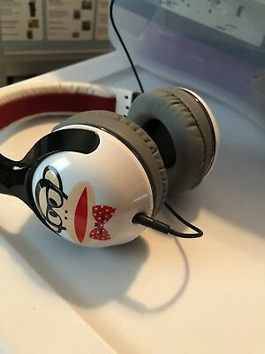 regular Capataz Año Nuevo Lunar  SKULLCANDY HESH 2 Paul Frank Over Ear Headphones - $25.00 | PicClick