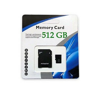 512GB Universal Micro SD SDXC SDHC TF Flash Memory Card Class 10