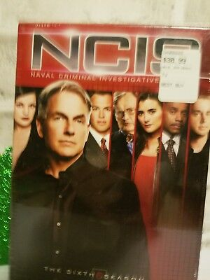 NCIS - The Complete Sixth Season (DVD, 2010, 6-Disc Set) Brand New in Package