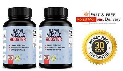 NARVI MUSCLE BOOSTER (2x90 Capsules) Enhance Muscle - Improve Performance