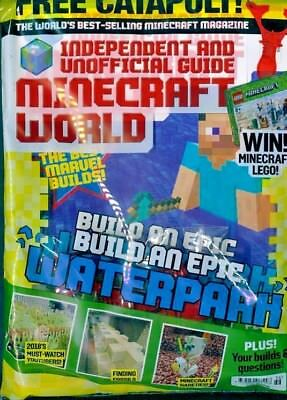 Minecraft World Magazine Issue #36 ~ New Sealed Pack ~