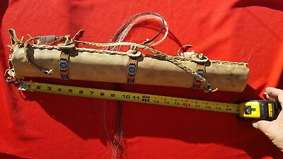 AUTHENTIC Native American NAVAJO Hand-Made Deer Skin Quiver
